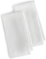 Hotel Collection Linen 2-Pc. Modern White Napkins, Created for Macy's