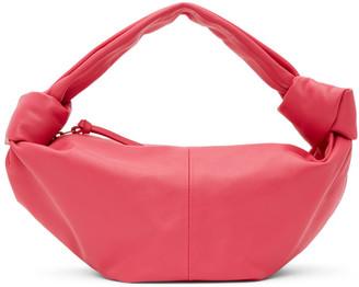 Bottega Veneta Pink Mini Jodie Pouch Bag