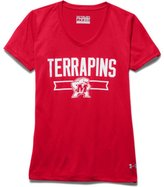 Under Armour Girls' Maryland UA Shimmer TechTM T-Shirt