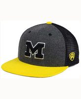 Top of the World Michigan Wolverines Mammoth Snapback Cap