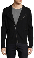 The Kooples Wool and Cotton Motorcycle Jacket