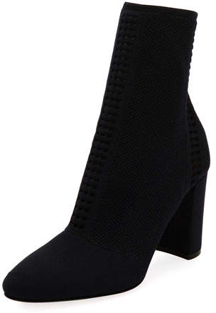 Gianvito Rossi Thurlow Knit 85mm Bootie