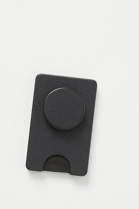 PopSockets Faux Leather Phone Wallet By PopSockets in Black Size ALL