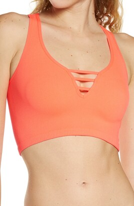 Free People Strapped In Crop Top