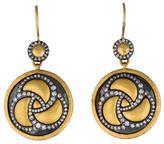 Gurhan Triskele Diamond Drop Earrings