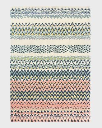 Ted Baker Zigzag Pattern Medium Rug