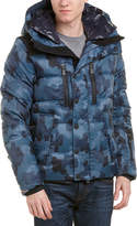 Moncler Rodenberg Camouflage Quilted Down Jacket