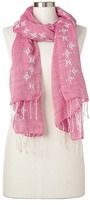 Gap Linen-cotton embroidered scarf