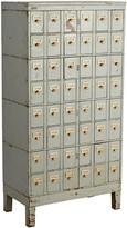 Rejuvenation Steel 48-Drawer Post Office Cabinet