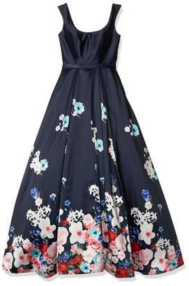 Mac Duggal Women's Floral Ball Gown