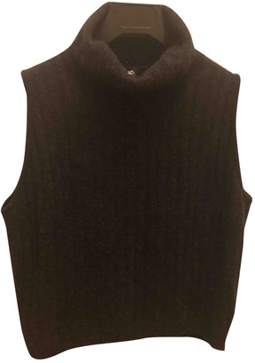 Etro Anthracite Cashmere Top for Women