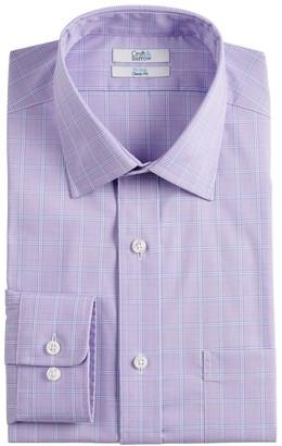 Croft & Barrow Men's Classic-Fit No-Iron Spread-Collar Dress Shirt