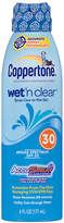 Coppertone Wet 'n Clear Wet 'n Clear Sunscreen Continuous Spray