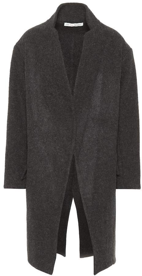 Live The Process Cotton and cashmere jacket