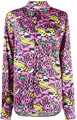 Marni x Bruno Bozzetto bolero print shirt