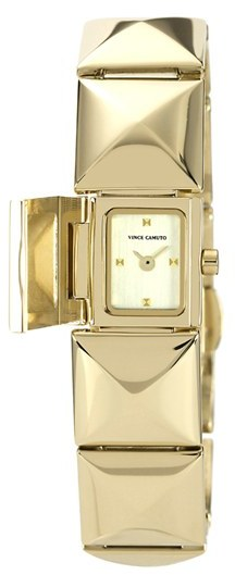 Vince Camuto Pyramid Station Bracelet Watch, 17mm