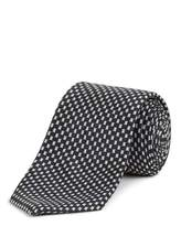 Jaeger Silk Broken Dogstooth Tie