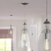 Laurèl Du Bois 1 - Light Single Bell Pendant Foundry Modern Farmhouse