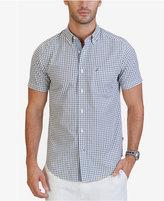 Nautica Men's Classic-Fit Grid-Pattern Shirt