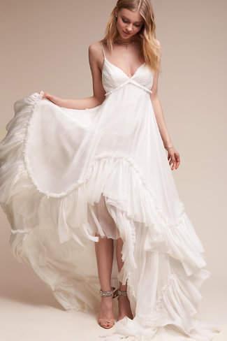 BHLDN Soie Gown