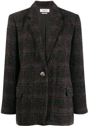 Etoile Isabel Marant Korix plaid jacket