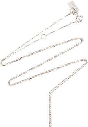 VANRYCKE 18K White Gold Diamond Necklace