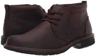 Ecco Turn Chukka Waterproof Boot (Coffee) Men's Boots