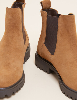 Marks and Spencer Wide Fit Suede Chelsea Ankle Boots