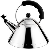 Alessi Bird Whistle Kettle - Black