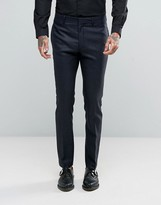 Religion Skinny Suit Trousers In Pow Check