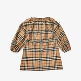 Burberry Alenka Dress (Little Kids/Big Kids) (Archive Beige Check) Girl's Clothing