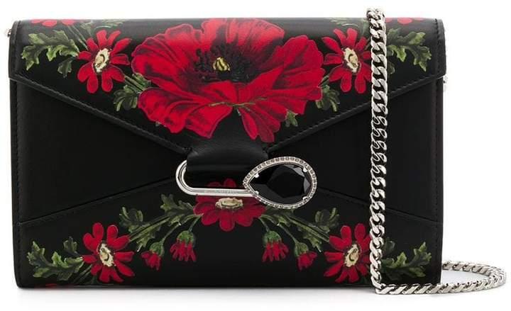 119f2d177 Alexander McQueen Black Crossbody Shoulder Bags - ShopStyle