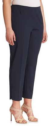 Lafayette 148 New York, Plus Size Bi-Stretch High-Waist Pants