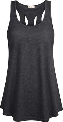 Equipment Women's Short Sleeve Yoga Tops Cool Dri Workout T-Shirt Deep Grey XXL