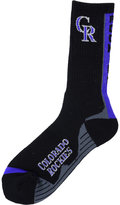 For Bare Feet Colorado Rockies Team Vortex Crew Socks