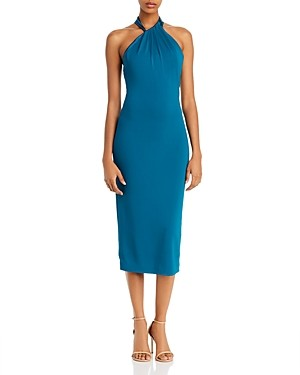 Cushnie Sleeveless Midi Sheath Dress