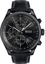 HUGO BOSS 1513474 Grand Prix ion-plated steel watch