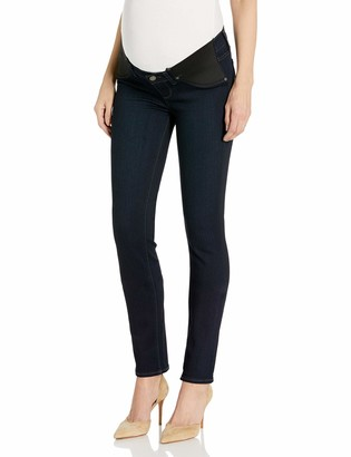 Paige Women's Maternity Skyline Skinny with Elastic Insets