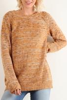 Hem & Thread Carmel Melange Sweater