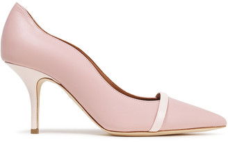 Malone Souliers Maybelle 70 Two-tone Leather Pumps