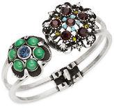 Gerard Yosca Floral Endcap Hinge Bracelet