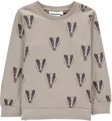 Mini Rodini Organic Cotton Badger Sweatshirt