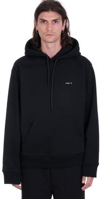 Oamc Mark Sweatshirt In Black Cotton