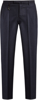 Incotex Slim-leg wool-flannel trousers
