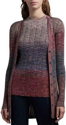 Missoni Short-Sleeve Ombre Sweater