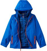 Columbia Boys 4-7 Heavyweight Interchangable Thermal Coil Hooded 3-in-1 Jacket