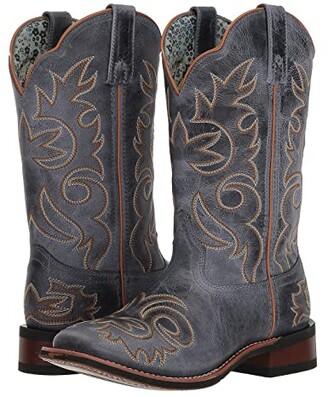 Laredo Eva (Blue) Cowboy Boots
