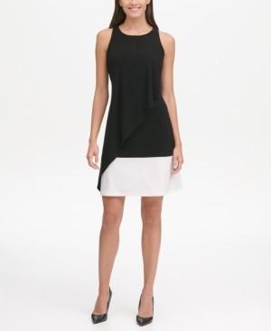 Tommy Hilfiger Colorblocked Jersey Dress