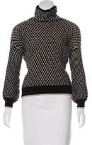 Trina Turk Merino Wool Turtleneck Sweater