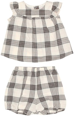 Bonpoint Baby Lilou blouse and bloomers set